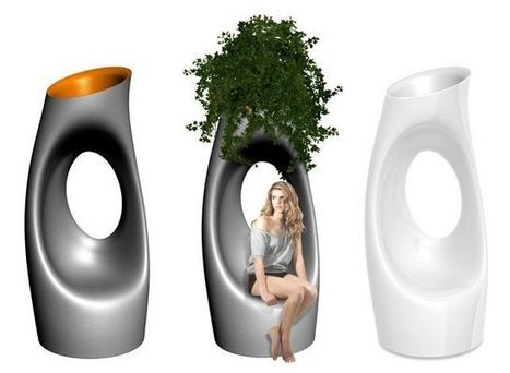 Garden Vases by SerralungaNet Interior Project | Immobilier | Scoop.it