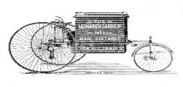 Historique du vélo cargo | Vélotourisme | Scoop.it