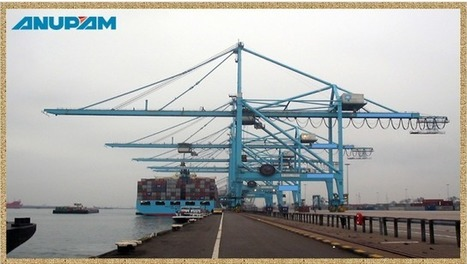 Gantry Cranes Modeling and Scheduling With Friction Compensation ~ Container Handling Cranes | Salman Mansuri | Scoop.it