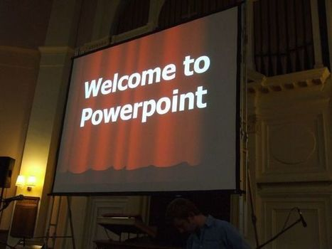 It's not PowerPoint's fault, you're just using it wrong | Teaching and Learning Resources for Faculty | Scoop.it