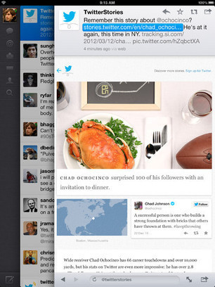 Twitter App For iPhone And iPad Gets Updated With New Features - iOS Twitter App ~ Geeky Apple - The new iPad 3, iPhone iOS6 Jailbreaking and Unlocking Guides | teaching with technology | Scoop.it