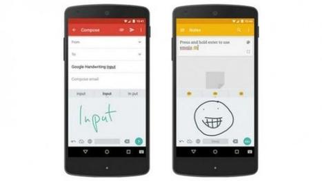 Google introduces new handwriting input tool for Android devices; allows users to draw emojis, text - Tech2 | Technology and Marketing | Scoop.it