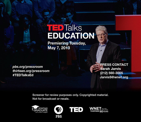 TED speaker, education and creativity expert | Sir Ken Robinson | Teaching & Learning | Scoop.it