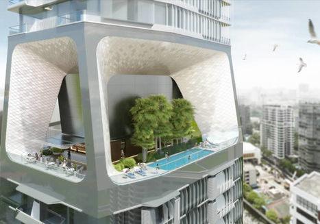UNStudio diseña una ciudad vertical para Singapur | AteBur | Scoop.it