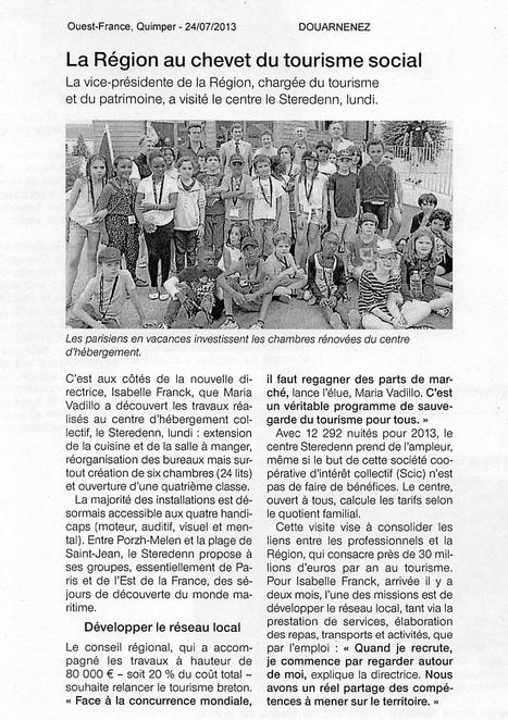 La Région Bretagne au chevet du tourisme social à Douarnenez   LA #BRETAGNE, ELLE VOUS CHARME - @Socialfave @TheMisterFavor @TOOLS_BOX_DEV @TOOLS_BOX_EUR @P_TREBAUL @DNAMktg @DNADatas @BRETAGNE_CHARME @TOOLS_BOX_IND @TOOLS_BOX_ITA @TOOLS_BOX_UK @TOOLS_BOX_ESP @TOOLS_BOX_GER @TOOLS_BOX_DEV @TOOLS_BOX_BRA   Scoop.it