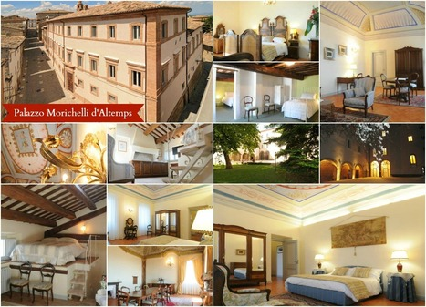 Best Le Marche Accommodations: Palazzo Morichelli d'Altemps, San Ginesio | Le Marche Properties and Accommodation | Scoop.it