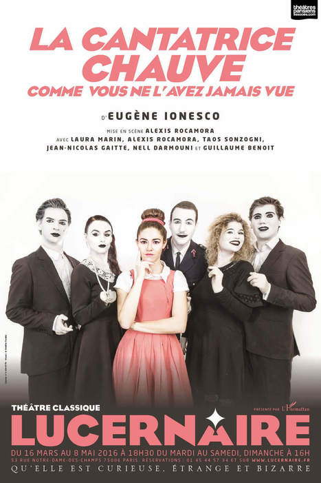 LA CANTATRICE CHAUVE / 18H30 - Lucernaire | 16s3d: Bestioles, opinions & pétitions | Scoop.it