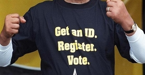 Picture surfaces that blows up left-wing's 'racist' voter ID cry   Christina Nonnenmacher-15th amendment   Scoop.it