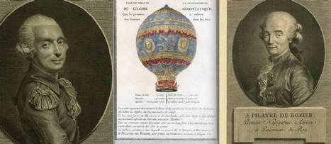 15 juin 1785 mort de Pilâtre de Rozier | Racines de l'Art | Scoop.it