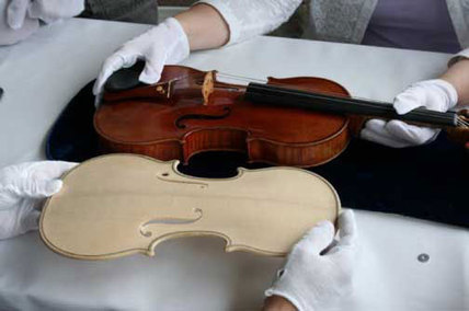 Stradivarius violin recreated from CAT scan, 'sounds amazingly similar' | Violins | Scoop.it