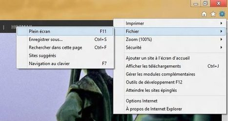 Démarrer Firefox et Internet Explorer en mode plein écran | Time to Learn | Scoop.it