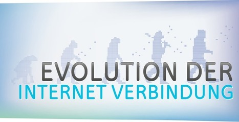 Evolution der Internetverbindung | Die Infografik | upc cablecom | e-learning in higher education and beyond | Scoop.it