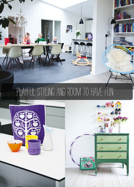 Home Tour: Style + Kids At Home | Interior Design & Decoration | Scoop.it
