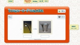 Free Technology for Teachers: Turn-o-Phrase - A Fun Way to Learn Colloquial Phrases | Technology and language learning | Scoop.it