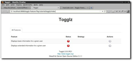 hasCode.com » Blog Archive » Handling Feature Flags in a Java EE Application using Togglz   Java EE 6 Development   Scoop.it