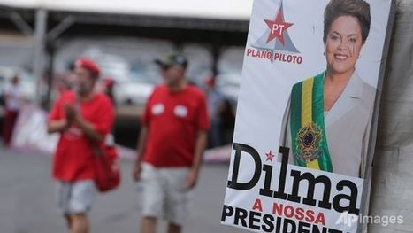 Scant rallies for Brazil's Rousseff before big day | Business Video Directory | Scoop.it