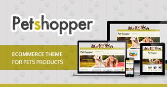 Petshopper – Ecommerce Theme for pets products | wordpresstemplates | Scoop.it