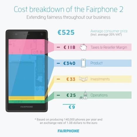 Fairphone 2 : le prix de 525 euros expliqué | Libertés Numériques | Scoop.it