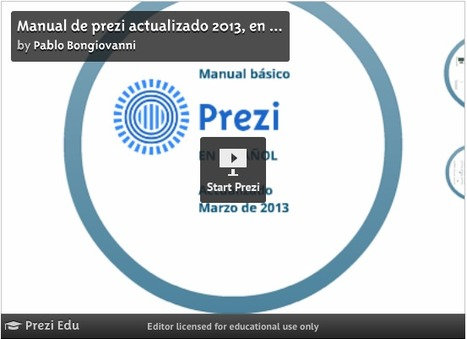 Manual de Prezi actualizado 2013, en Español | Iniciativa pedagogica | Scoop.it