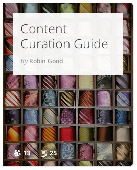 An Introductory Guide to Content Curation | Creating Library Learning Commons | Scoop.it