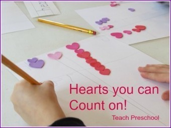 Hearts you can count on | Teach Preschool | Scoop.it
