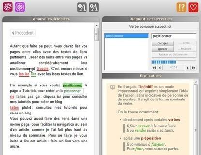 4 outils gratuits pour ne plus faire de fautes d'orthographe | Entrepreneurs du Web | Scoop.it