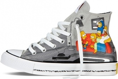 Blog - Converse Chuck Taylor The Simpsons Shoes Customized   Comic Nike Dunks   Scoop.it