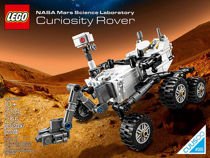 LEGO CUUSOO NASA Mars Science Laboratory Curiosity Rover Revealed | The Brick Fan | Scoop.it