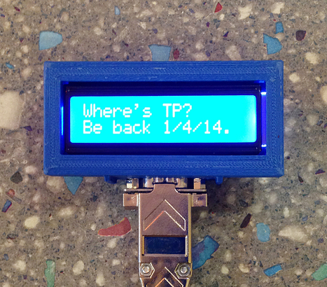 New Project: The Connected Office: Text Message-Based Remote Display | Raspberry Pi | Scoop.it
