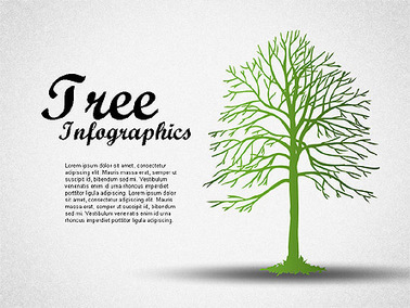 Green Tree Infographics   Diagrams and Charts for Presentations   Scoop.it