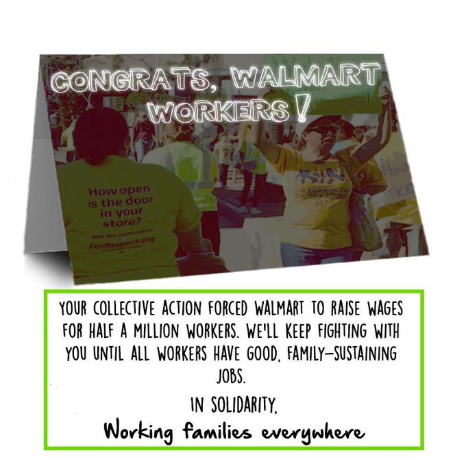 Walmart Workers are Winning! | real utopias | Scoop.it