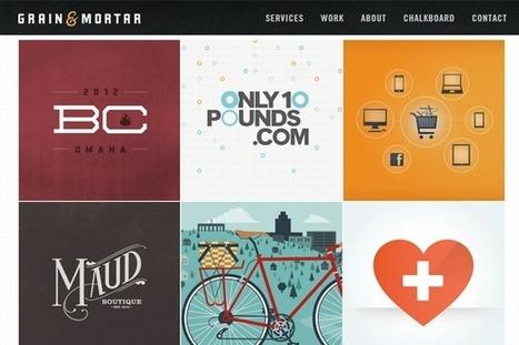 26 Portfolio Project Listings for Design Inspiration   Sharing Inspiration K7Media   Scoop.it