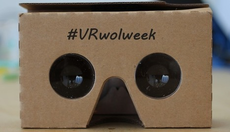 Virtual Reality Working Out Loud Week 2016 | Augmented, Alternate and Virtual Realities in Higher Education | Scoop.it