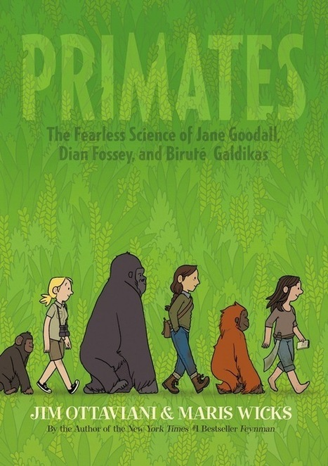 Preview: Primates — Good Comics for Kids | Superheroes | Scoop.it