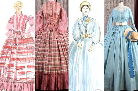 Up Close with the Elaborate Civil War–Era Costumes of Mercy Street | Texas A&M Costume and Dress | Scoop.it