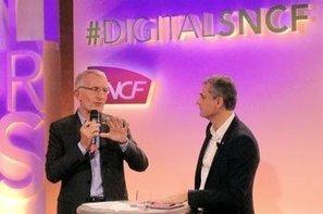 WiFi dans les trains, fonds d'investissement... La SNCF accélère sur le numérique   Web Marketing & Social Media   Scoop.it