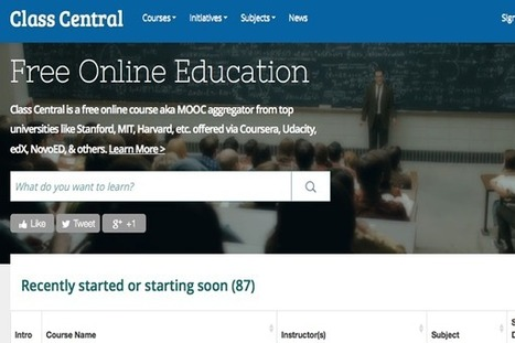 List of Over 160 Free Online Courses / #MOOCs Starting in January 2014 #elearning | Teaching English Today | Scoop.it