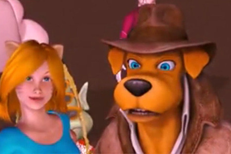 Epic fail: Trailer released for weird Charlie Sheen-Hilary Duff animated film | Reviews and Trailers | Scoop.it