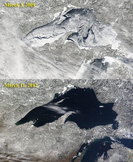 Great Lakes Ice Cover Down 71% Since 1973 | Sustain Our Earth | Scoop.it