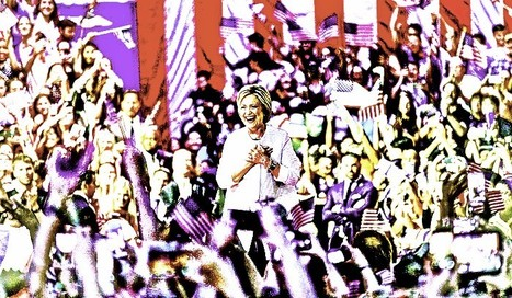 Hillary Clinton officially nominated by Democratic party : All Fired Up and Ready to Go... | iLife | Scoop.it