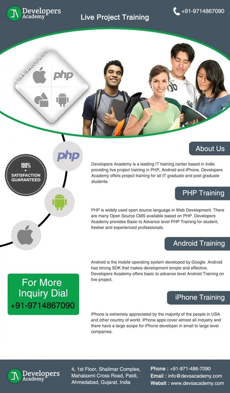 Live Project Training in Ahmedabad | PHP Training | Scoop.it