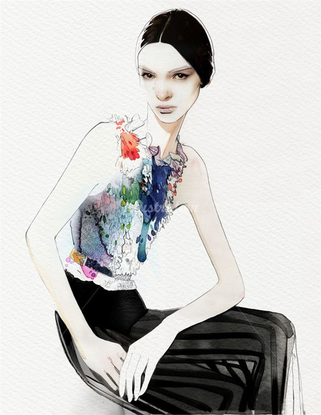 NUNO DA COSTA / FASHION ILLUSTRATIONS | ART & EXHIBITIONS | Scoop.it