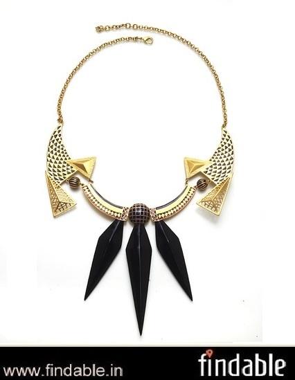 Buy BLACK ROCK Necklace | Fashion Accessories | Scoop.it