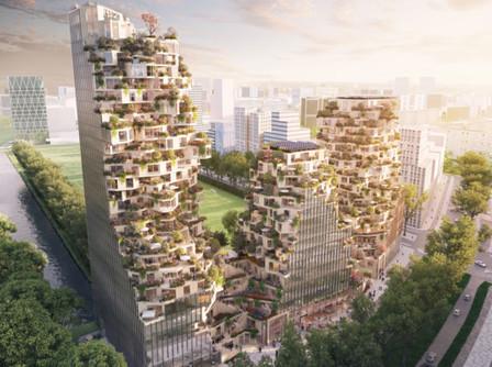 MVRDV diseña complejo de uso mixto en Amsterdam - Plataforma Arquitectura | retail and design | Scoop.it