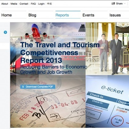 The Travel and Tourism Competitiveness Report 2013 | Holiday Spots | Scoop.it