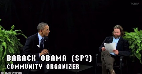 Watch Zach Galifianakis Get Burned by Barack Obama on 'Between Two Ferns' | Business & Marketing | Scoop.it