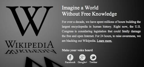 Comment faire pour visualiser tout de même Wikipedia pendant le blackout | Le blog des nouvelles technologies : Web, Technologies, Développement, Interopérabilité | Gouvernance web - Quelles stratégies web  ? | Scoop.it