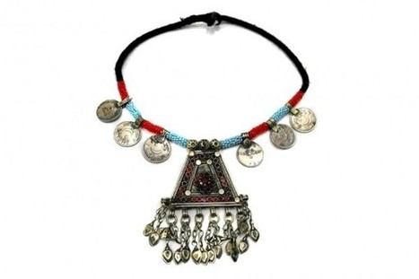 Belly Dance Cleopatra Necklace ATS Fusion Choker Gypsy Tribal Jewelry Layer | Buy Belly Dance Jewelry Tribal Fusion Bellywood | Scoop.it