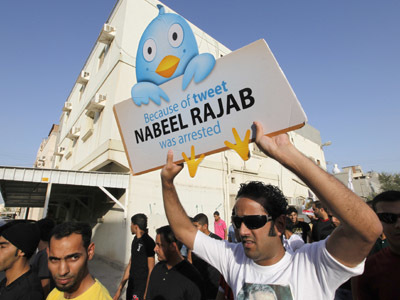 Bahrain imprisons leading rights activist over pro-democracy tweet — RT | Human Rights and the Will to be free | Scoop.it
