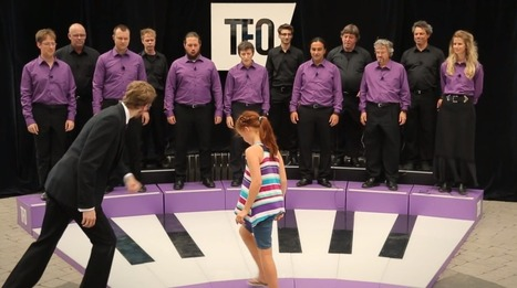 Giant Keyboard Powered By Opera Singers In The Living Piano | Opera and interesting things | Scoop.it